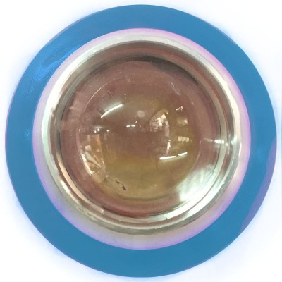Vheelocityin Reflector Motorcycle / Bike / Scooter Projector Head Lamp LED Light Blue Ring For Bajaj Pulsar 135 Ls Pulsar Projector Lens