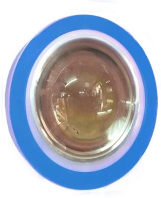 Vheelocityin Reflector Motorcycle / Bike / Scooter Projector Head Lamp LED Light Blue Ring For Bajaj V15 Projector Lens