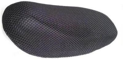 vedika collection vedika cool mesh seat cover 127 Single Bike Seat Cover For Bajaj Platina