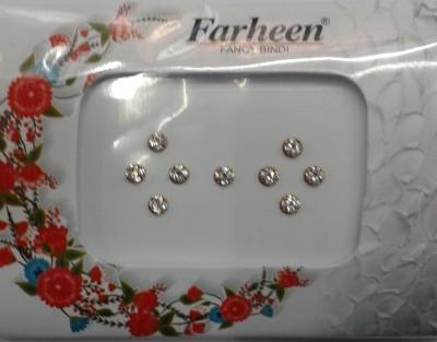Farheen Bindi Forehead Silver Bindis