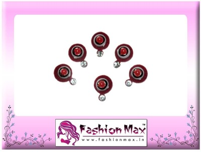 Fashion Max Pleasant Festive Collection Forehead Red Bindis