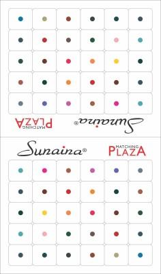 Sunaina Matching Plaza Size-8 Forehead Multicolor Bindis