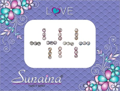 Sunaina Love Collection Forehead Multicolor Bindis