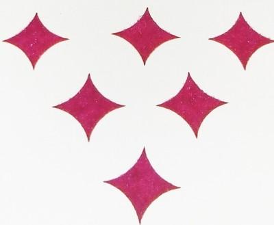 Parampara Pink Star Forehead Pink Bindis