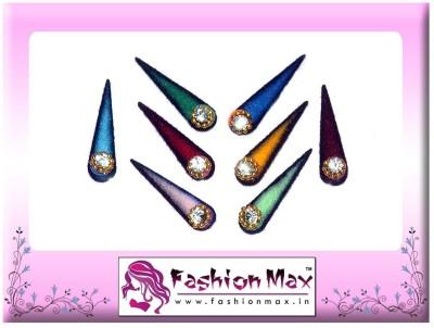 Fashion Max Multicolor Tika with Crystal Forehead Multicolor Bindis