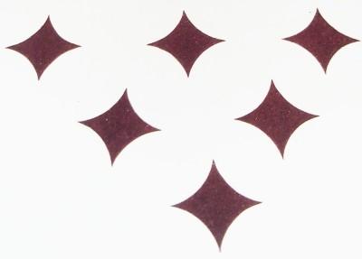 Parampara Round Star Forehead Maroon Bindis