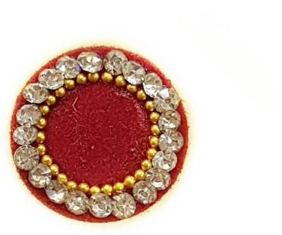 Amatra Border Forehead Maroon Bindis(Fancy Design)
