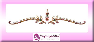 Fashion Max Highly Decorative Bridal Bindi Forehead Red Bindis