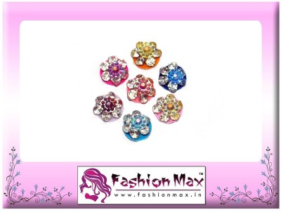 Fashion Max Premium Colorful Crystal Forehead Multicolor Bindis
