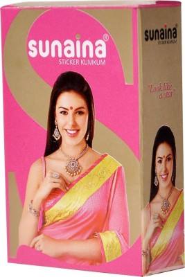 Sunaina Sticker Kumkum R-5 Forehead Red Bindis(Fancy Design)
