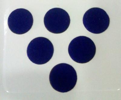 Parampara Blue Round Forehead Blue Bindis