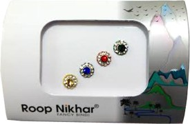Roop Nikhar Fancy Bindi 05 Forehead Multicolor Bindis