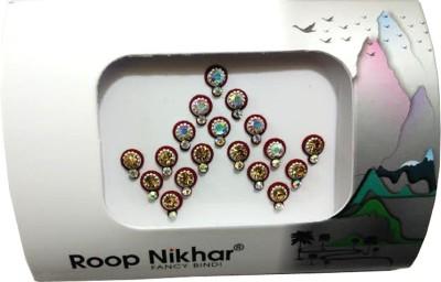 Roop Nikhar Fancy Bindi 08 Forehead Maroon Bindis