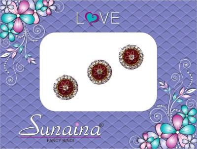 Sunaina Love Collection Forehead Maroon Bindis