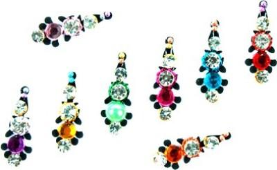 Seema 15 Stone Forhead Multicolor Bindis