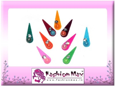 Fashion Max Multicolor Tika with Crystal Forehead Multicolor Bindis
