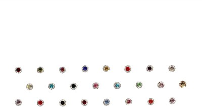 Instabuyz Round BDI 24pc Women's & Girl's Multicolor Bindis(Fancy Design)