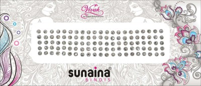 SUNAINA VIVAH COLLECTION FOREHEAD White Bindis