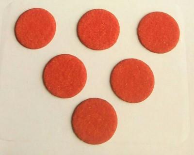 Parampara Round Forehead Orange Bindis