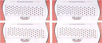 Sejal Bindi Designer Gift Card Collection Forehead Multicolor Bindis