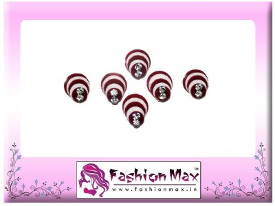 Fashion Max Highly Decorative Pleasant Design Forehead Red Bindis