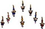 DCS Diamond Forehead Multicolor Bindis (...
