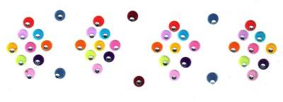 Fashion Max Multicolour Fancy Mirror Forehead Multicolor Bindis