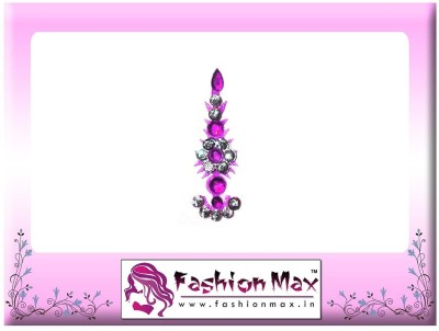 Fashion Max Highly Decorative Fansy Long Tikka Bindi Forehead Purple Bindis