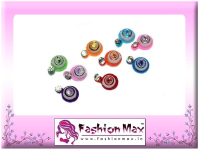 Fashion Max Nano Design Multicolor with Crystal Forehead Multicolor Bindis
