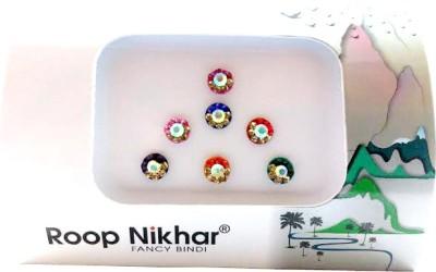 Roop Nikhar Fancy Bindi 07 Forehead Multicolor Bindis