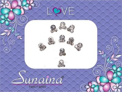 Sunaina Love Collection Forehead White Bindis