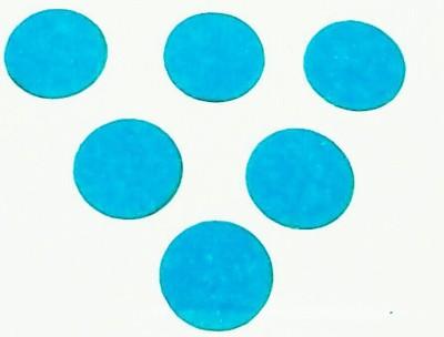Parampara Sky Round Forehead Blue Bindis