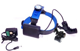 Bino LED Spot Light with Binoculars Binoculars