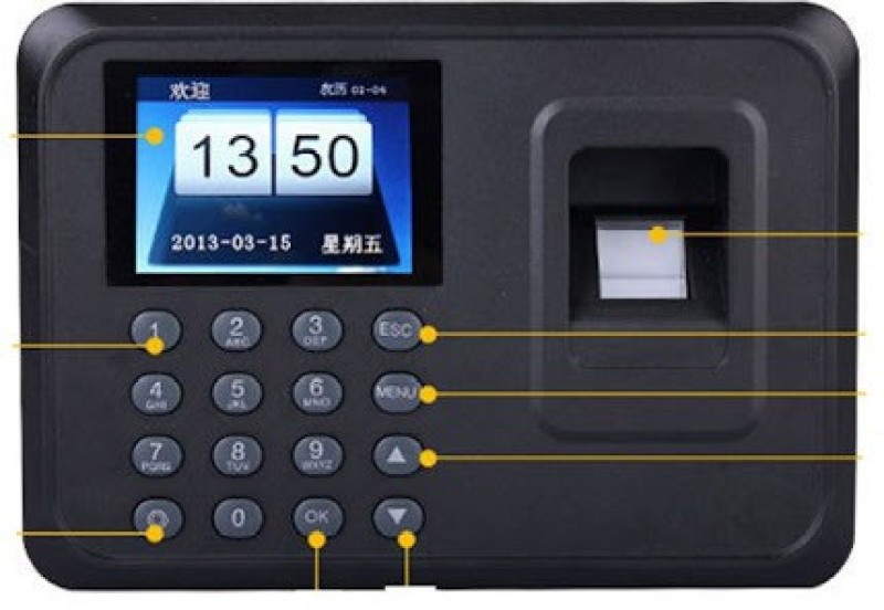 MDI 3600 Time & Attendance(Fingerprint)