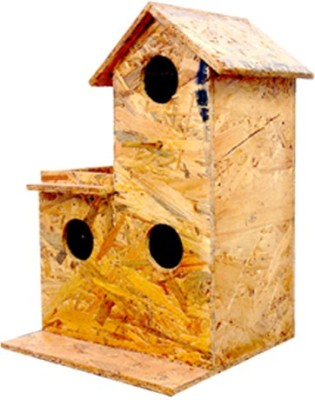 Amijivdaya Window Bird Feeder Bird Feeder(Yellow)