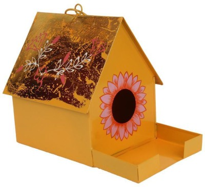 Wonderland Tray Bird Feeder(Yellow)