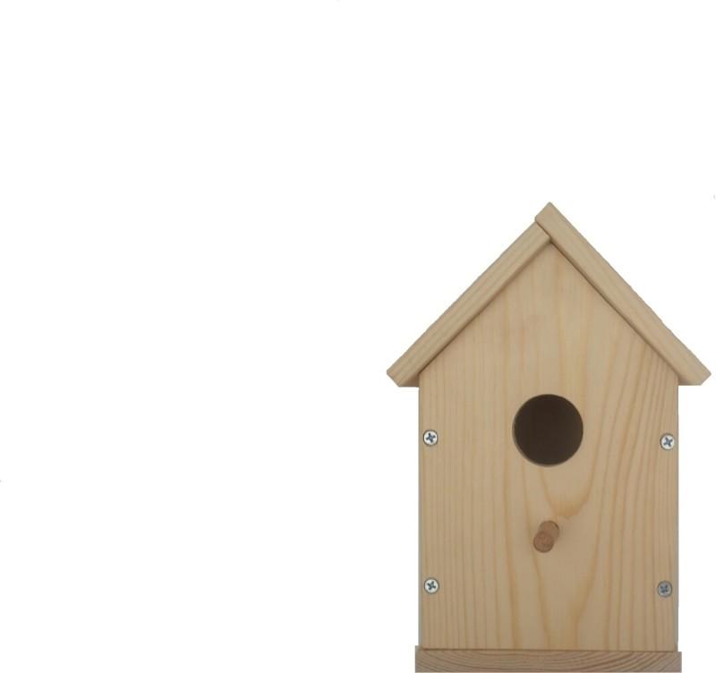 Arhant Pole Mount Bird Feeder(Beige)