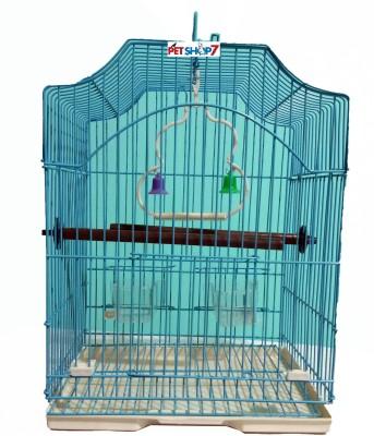 Petshop7 XS04LIGHTBLUE Bird House(Free Standing, Hanging, Tree Mounting, Wall Mounting)