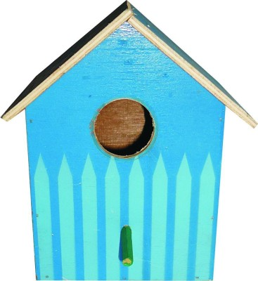 Scrap Wood Birdhouse Sb-Blue-1 Bird Hous...