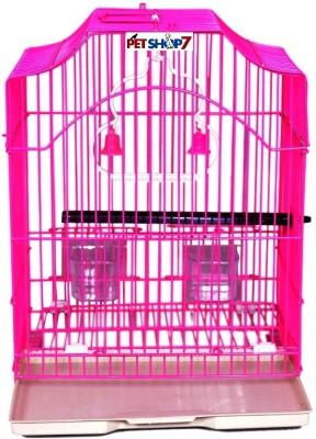 Petshop7 XS02PINK Bird House(Free Standing, Hanging, Tree Mounting, Wall Mounting)