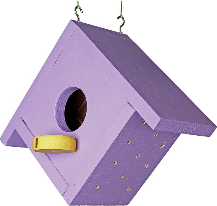 View Comfy CE/BIRDHOUSE/2 Bird House(Hanging, Wall Mounting, Tree Mounting) Furniture (Comfy)
