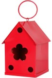 TrustBasket Red Bird House (Hanging)
