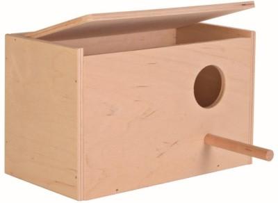 PetNest Budgie bird and Love bird breeding nest box Bird House(Wall Mounting, Free Standing)