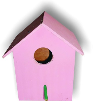 Scrap Wood Birdhouse SB-PINK-1 Bird Hous...