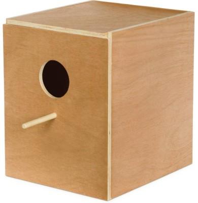 PetNest Parakeet and cockatiel breeding nest box Bird House(Wall Mounting, Free Standing)