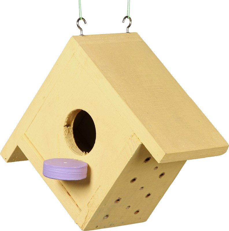 Comfy CE/BIRDHOUSE/1 Bird House(Hanging, Wall Mounting, Tree Mounting)
