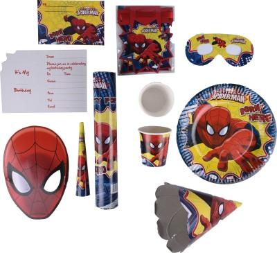 Marvel Amazing Spiderman Birthday Combo Kit(Set of 9)