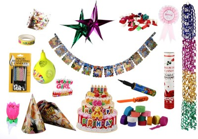 NHR Birthday Decoration Kit for Girl