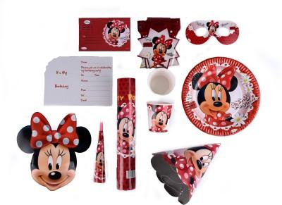 Disney Minnie Birthday Combo Kit(Set of 9)