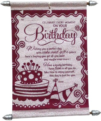 Saugat Traders Happy Birthday Greeting Card